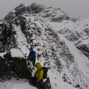 More snow everywhere, even The Cuillin.