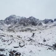 That's a bit more like it! Tower Ridge, Ben Nevis
