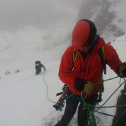 Today Dave was out teaching Euan and Fiona the magic of winter leading and shari
