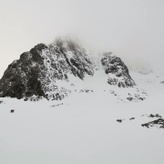 Minus 2 Gully and North East Buttress, Ben Nevis